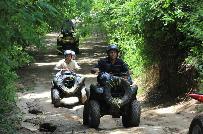 Huatulco jungle atv tour in huatulco 151124