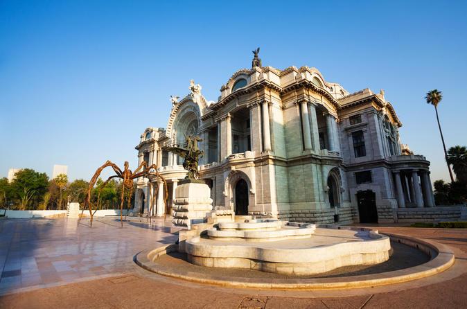 Mexico City Palace of Fine Arts Entrance Ticket