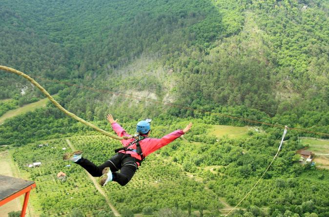 Monterrey bungee jump in monterrey 159311