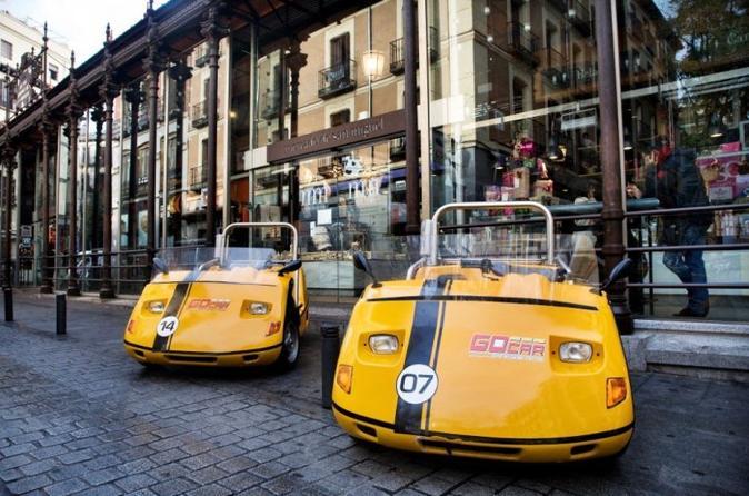 Madrid GPS-Guided GoCar Tour: Cosmopolitan Madrid 2h