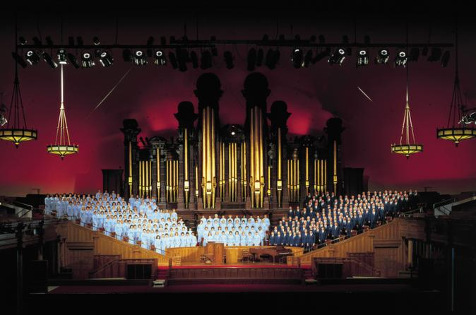 Salt lake city tour and mormon tabernacle choir performance in salt lake city 127520