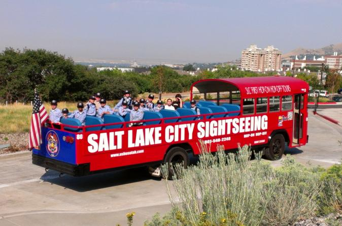 Salt lake city hop on hop off tour in salt lake city 157896