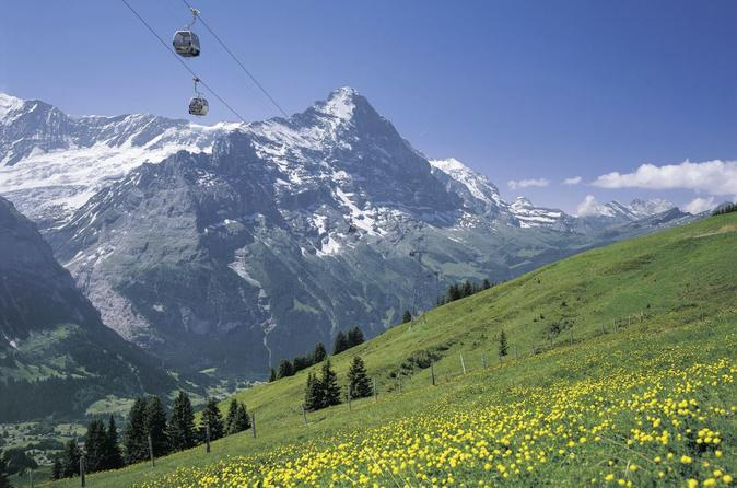 Toegang tot de First in Grindelwald