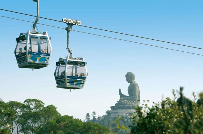 Ngong Ping 360 Skip-The-Line Private Crystal Cabin Ticket