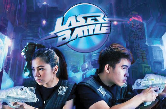 Laser Battle Experience in Kuala Lumpur