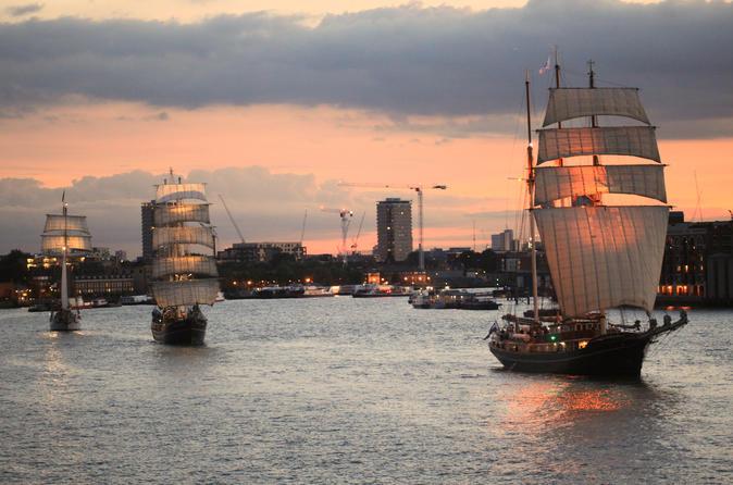 Thames Tall Ship Cruise