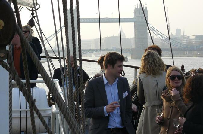 VIP Thames Tall Ship Cruise