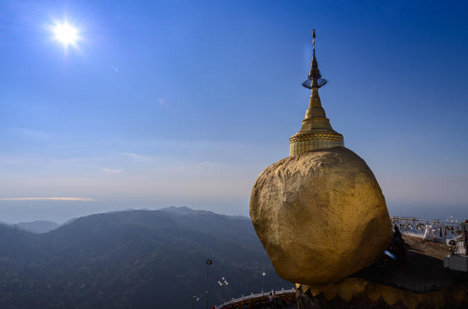 2-Day Golden Rock and Bago Tour from Yangon