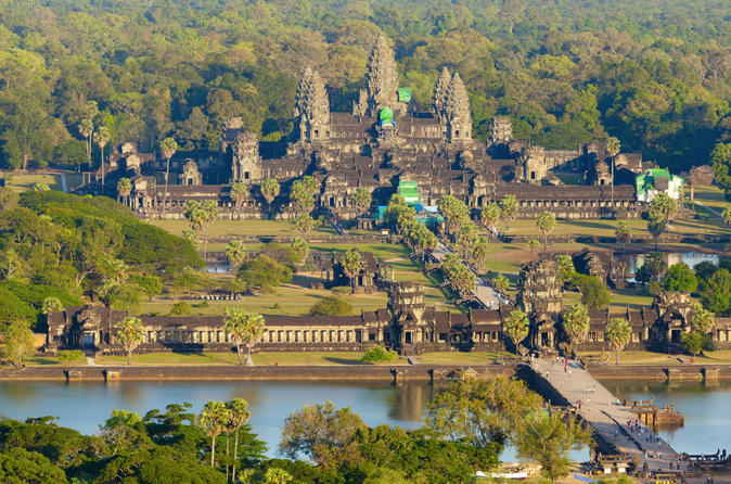 5 night cambodia tour to angkor wat from phnom penh by air in phnom penh 157254