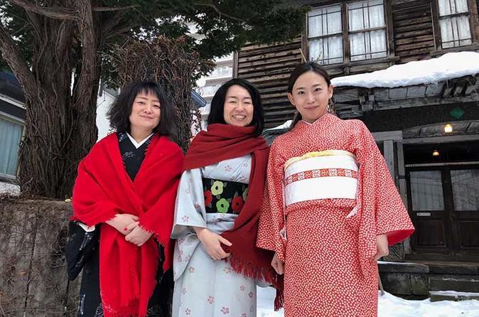 Kimono Experience in Sapporo