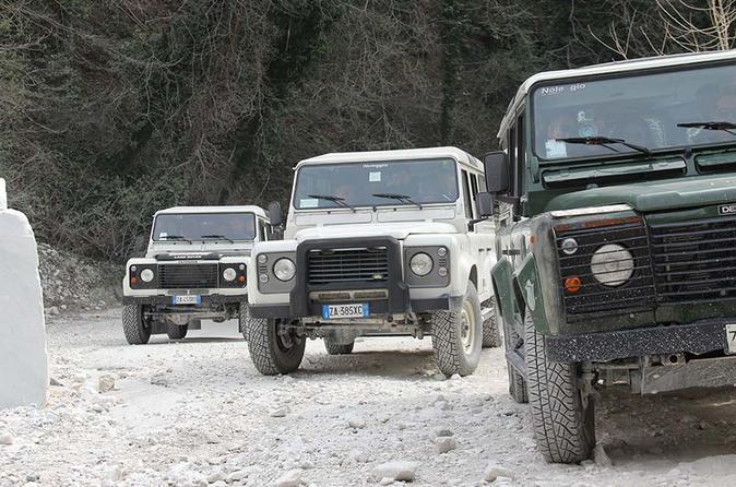 4X4 Off-Road Adventure of Carrara Marble Quarries from Pisa 2019