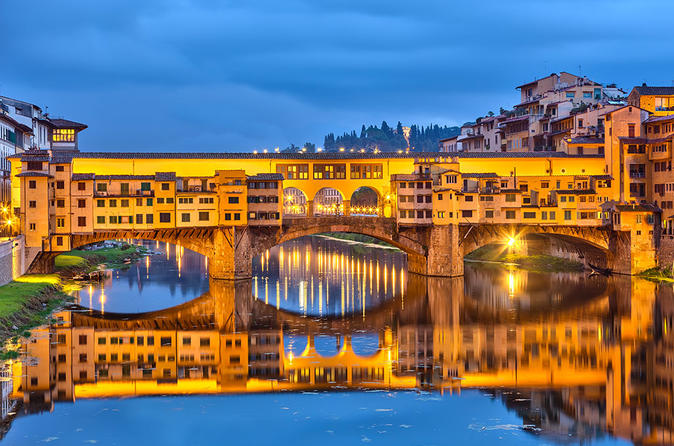 Evening Tour of Florence with Visit to Piazzale Michelangelo and Dinner