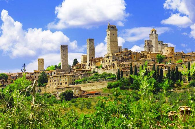Excursão de dia inteiro à zona rural da Toscana saindo de Florença