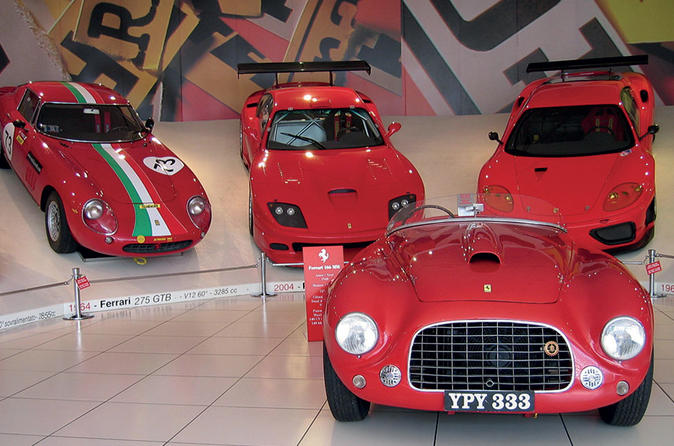 Ferrari Museum Tour with Lunch from Florence