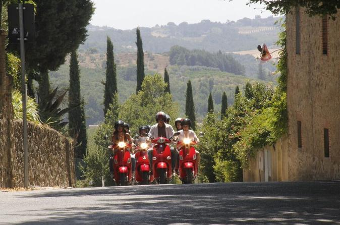 Full day chianti tour by vespa scooter from san gimignano in san gimignano 289457
