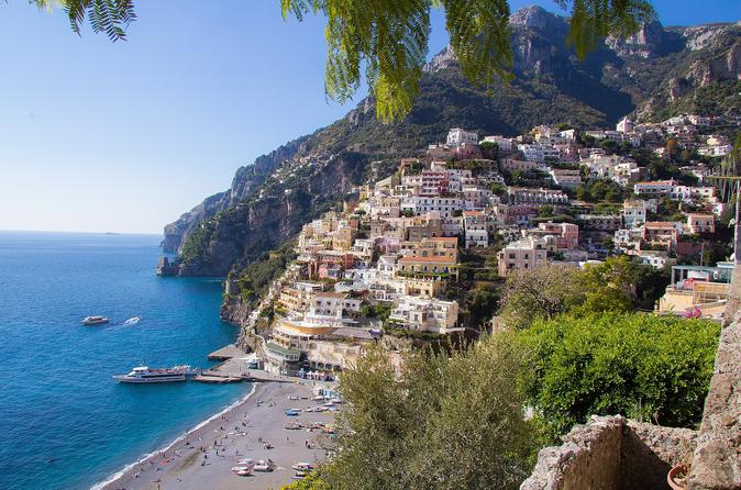 Excursão diurna em Sorrento, Positano e Amalfi saindo de Nápoles