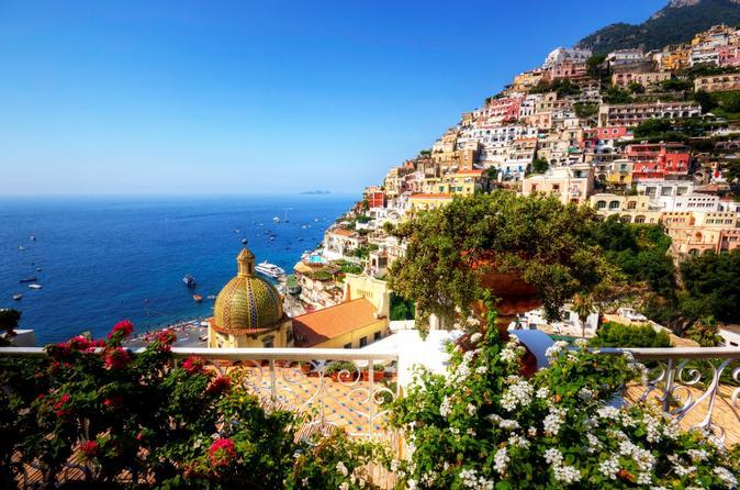 Passeio de um dia em Pompéia e Costa Amalfi, saindo de Nápoles
