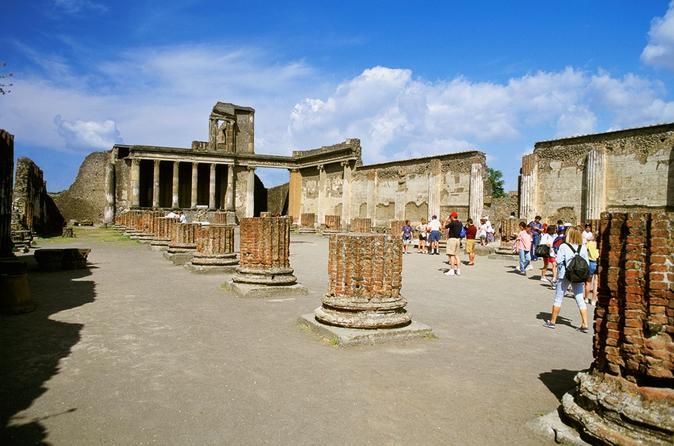 Passeio de um dia por Pompéia e Herculano saindo de Nápoles