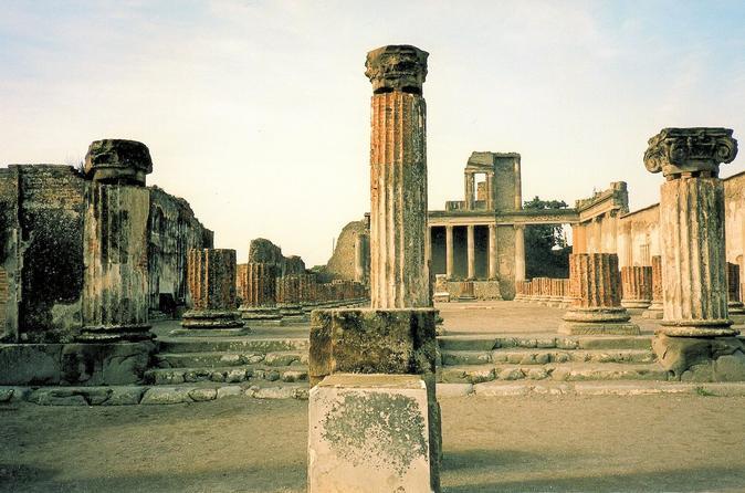 Pompeii and Mount Vesuvius Day Trip from Naples