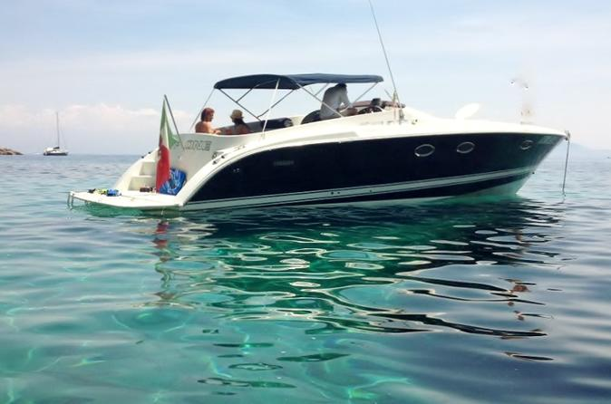 Powerboat to Capri OW Exclusive Use Transfer from Napoli max 10 people