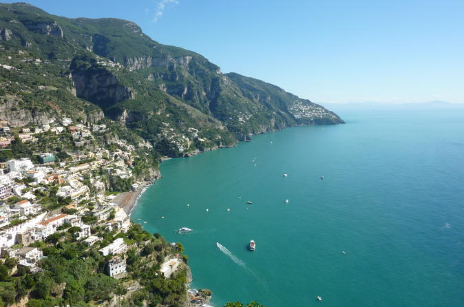 Sorrento Positano and Amalfi Day Tour from Naples Port
