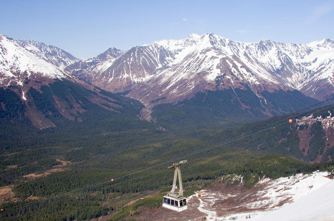 Seward Shore Excursion: Post-Cruise Transfer and Tour from Seward to Anchorage