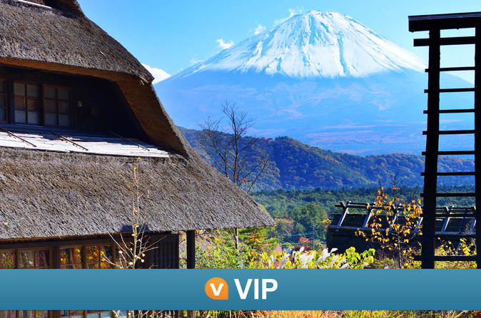 Viator VIP: Mt Fuji Private Tour with Sengen Shrine Visit from Tokyo