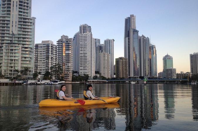 Surfers paradise sunset kayak tour in gold coast 130147