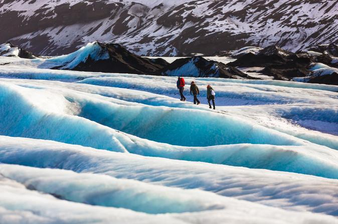 Guided Full-Day Tour of Iceland's South Coast & Glacier Walk