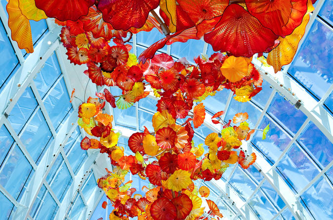 Chihuly garden and glass exhibit in seattle in seattle 136649