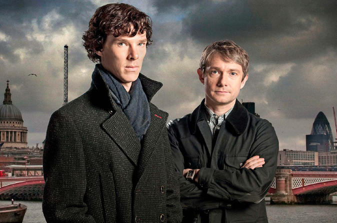 Private London 3 hour Sherlock Locations Tour by Black Taxi