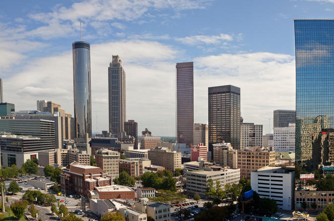 Four hour atlanta city sightseeing tour by coach in atlanta 140759