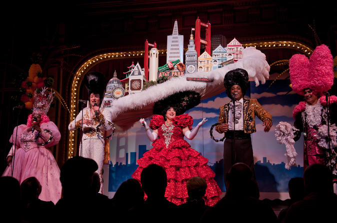 Beach blanket babylon show ticket in san francisco 332680