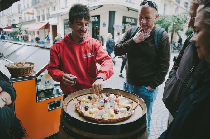 Private Paris: 3 Hour Morning Cheese, Art, and Local Life Tour