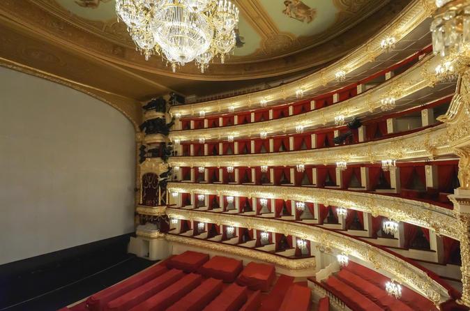 Excursão privada do Teatro Bolshoi em Moscou