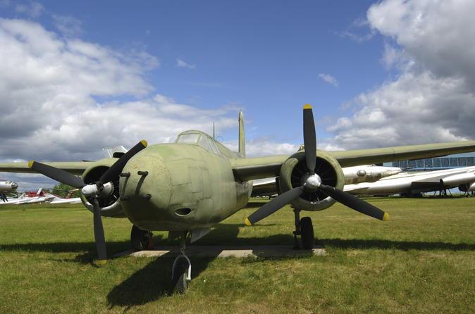 Excursão privada: Excursão pelo Museu da Força Aérea Central de Monino, saindo de Moscou