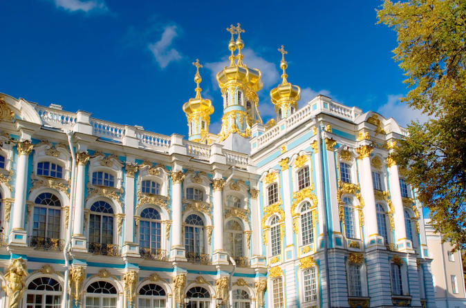Excursão Privada: Viagem de Um Dia para Pushkin saindo de São Petersburgo Incluindo o Palácio de Catarina