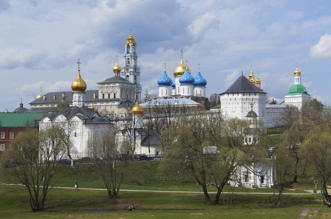 Private Tour: Sergiev Posad Day Trip and Trinity Lavra Monastery of St Sergius Tour