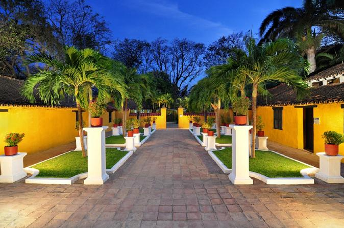 Ingresso para a Quinta de San Pedro Alejandrino
