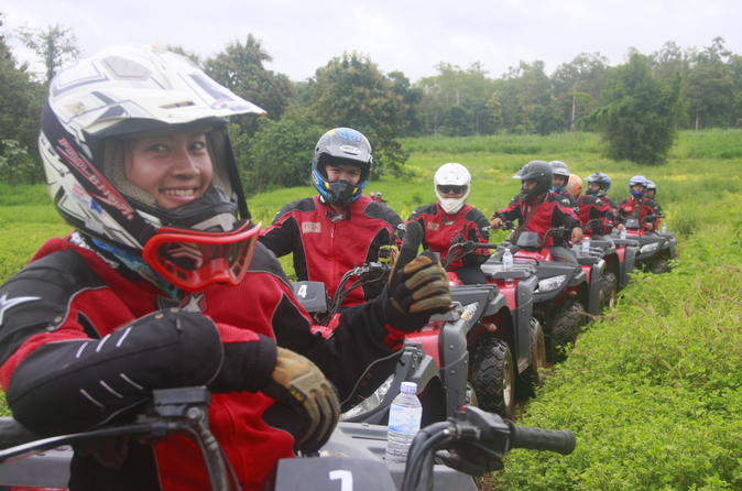 Bushwacker tour ATV Passenger 1 hr 10 km Q1