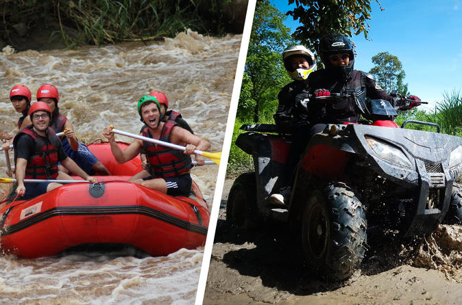 White water rafting and ATV  at Maetang river north of Chiangmai