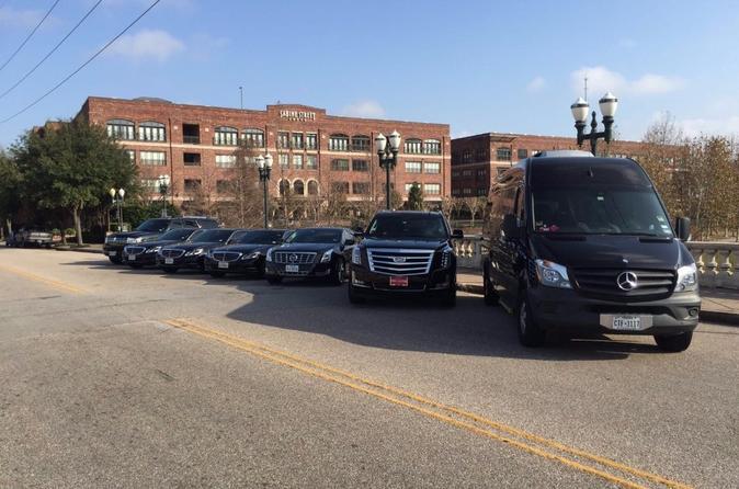Sprinter Van IAH Transfer to Galveston