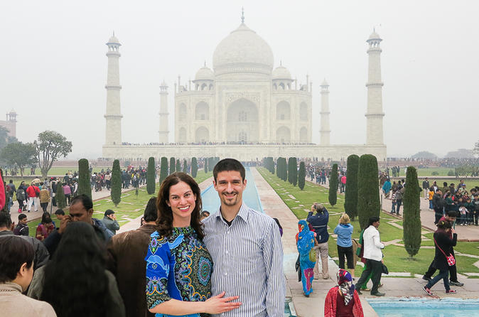 Full-Day Taj Mahal Sunrise Tour from Jaipur