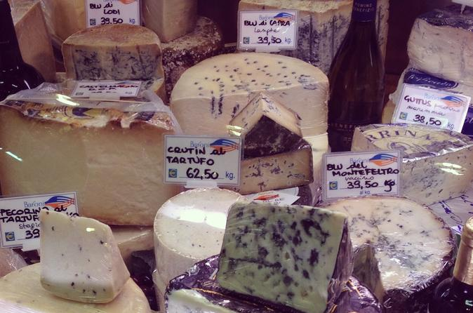 Florence Markets and Delis Visit Including Food Tasting
