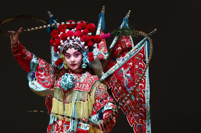 Experience Beijing Opera: Private Makeup Session and Show at TaipeiEYE