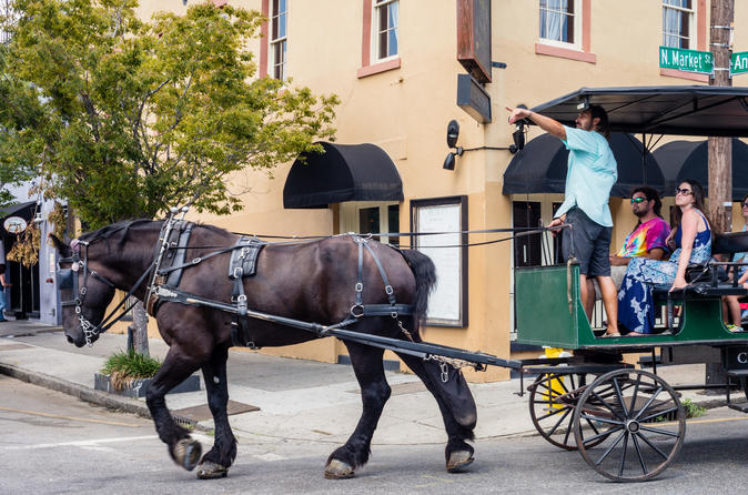 Slavery to Freedom Carriage Tour of Charleston