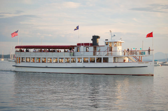 New England Fall Foliage Luncheon Cruise in Boston Harbor