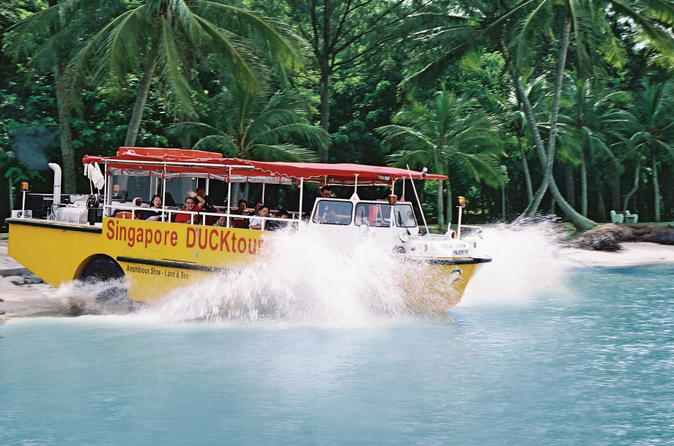 Singapore duck tour in singapore 136892