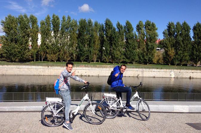 Madrid's Literary Quarter and Retiro Park Bike Tour