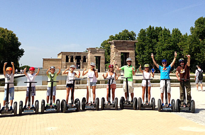 Madrid Sightseeing 1h30 Segway Tour